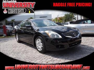 2010 Nissan Altima for sale in Davie, FL