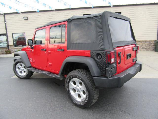 2012 Jeep Wrangler Unlimited 4x4 Sport 4dr SUV - Evansville IN