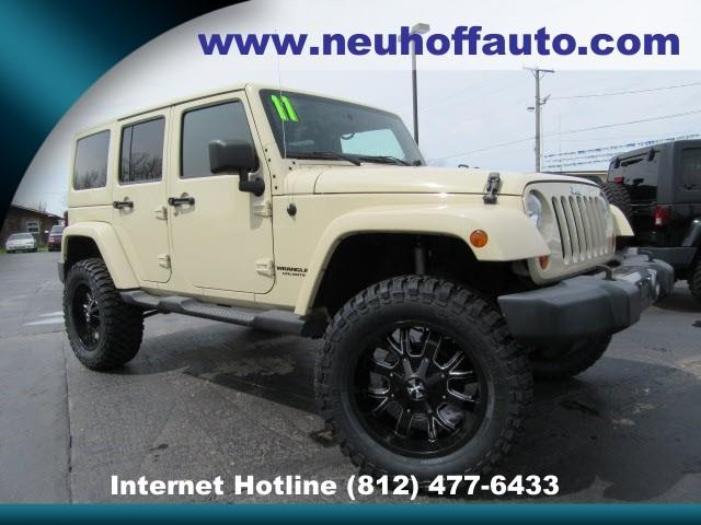 2011 Jeep Wrangler Unlimited Mojave 4X4 - Evansville IN