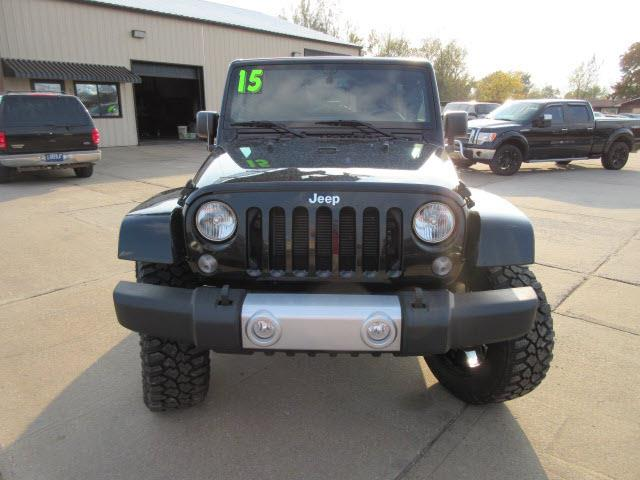 2015 Jeep Wrangler Unlimited 4x4 Sahara 4dr SUV - Evansville IN