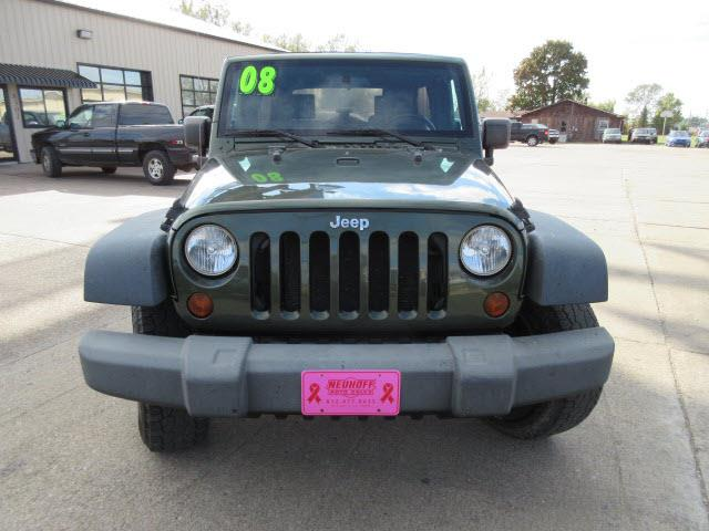 2008 Jeep Wrangler Unlimited 4x4 X 4dr SUV - Evansville IN