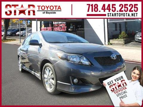 2010 Toyota Corolla for sale in Flushing, NY