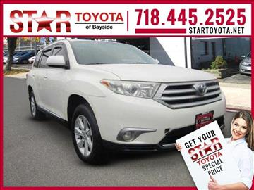 2013 Toyota Highlander for sale in Flushing NY