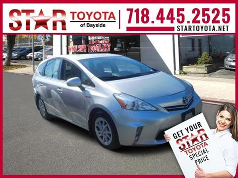 2012 Toyota Prius v for sale in Flushing, NY