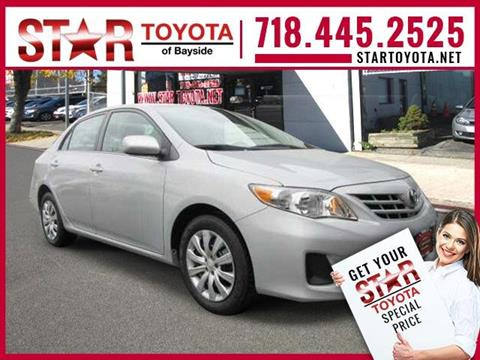2013 Toyota Corolla for sale in Flushing NY