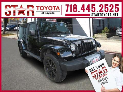 2015 Jeep Wrangler Unlimited for sale in Flushing NY