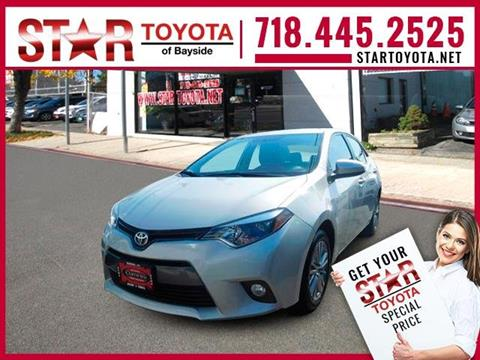 2015 Toyota Corolla for sale in Flushing NY