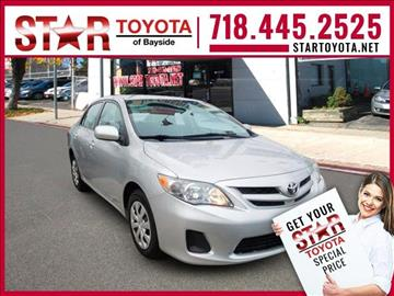 2011 Toyota Corolla for sale in Flushing, NY