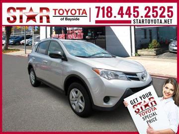 2014 Toyota RAV4 for sale in Flushing NY