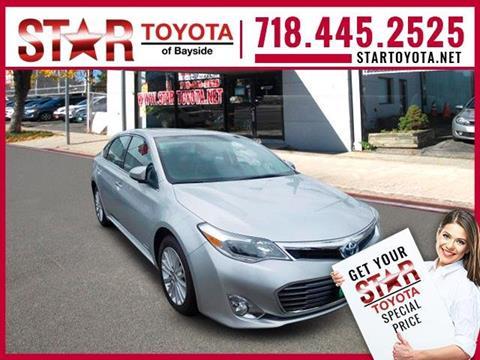 2013 Toyota Avalon Hybrid for sale in Flushing NY