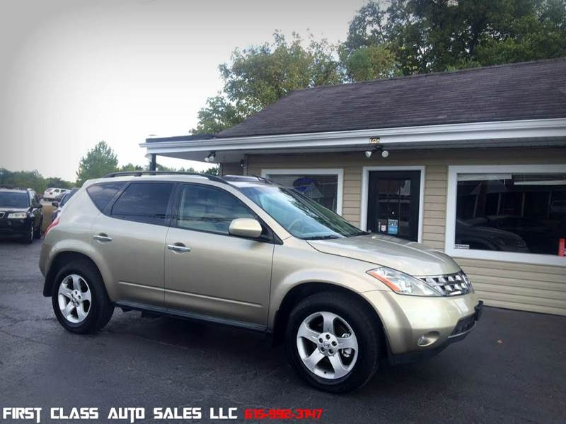 Nissan Murano For Sale In Tennessee Carsforsale Com