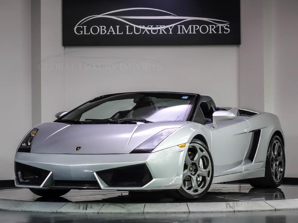 2006 lamborghini gallardo for sale. Black Bedroom Furniture Sets. Home Design Ideas