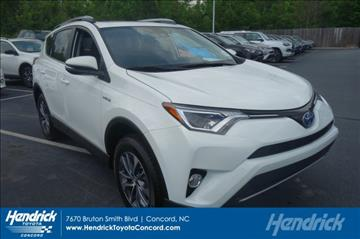 2017 Toyota RAV4 Hybrid for sale in Concord, NC