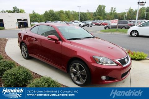 2011 Lexus IS 250C For Sale In Concord, NC
