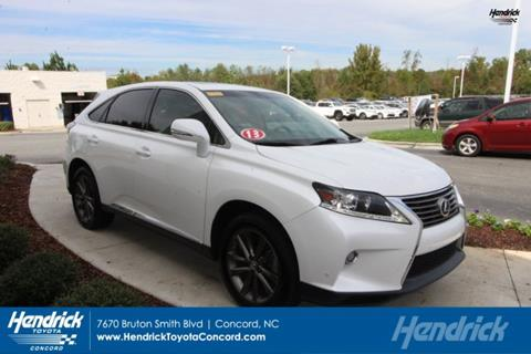 2013 Lexus RX 450h for sale in Concord, NC