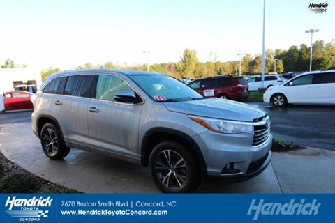 2016 Toyota Highlander for sale in Concord, NC