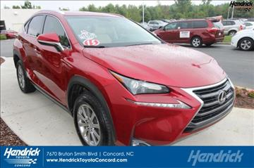 2015 Lexus NX 200t for sale in Concord, NC