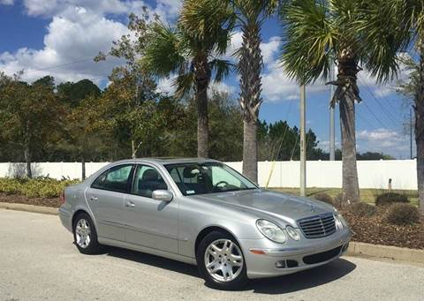 2006 Mercedes-Benz E-Class for sale in Jacksonville, FL