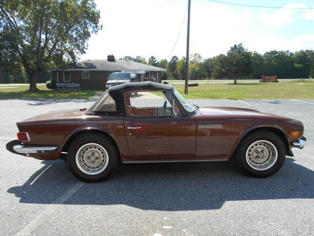 1976 triumph tr6 convertible in gray court sc classic cars of south carolina. Black Bedroom Furniture Sets. Home Design Ideas