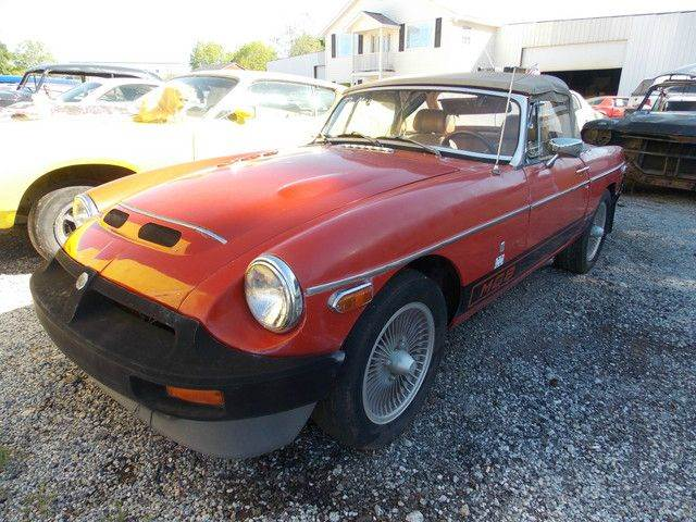 1977 mg mgb convertible in gray court sc classic cars of south carolina. Black Bedroom Furniture Sets. Home Design Ideas