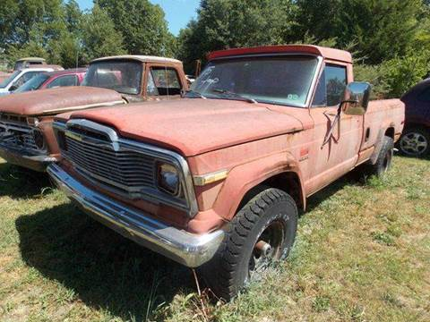 1975 Jeep J-10 Pickup for sale in Gray Court, SC
