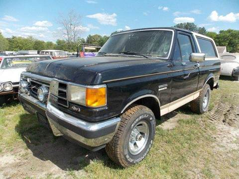 1990 Ford Bronco for sale in Gray Court, SC