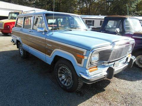 1980 jeep grand wagoneer for sale in gray court sc. Cars Review. Best American Auto & Cars Review