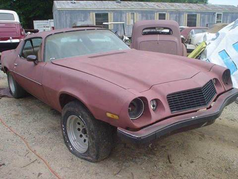 1977 Chevrolet Camaro For Sale  Carsforsalecom