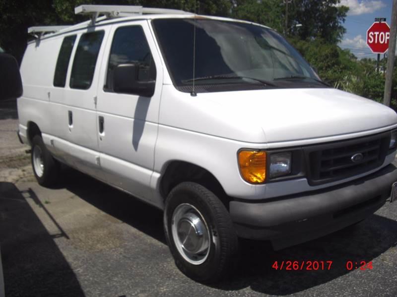 2004 Ford E-Series Cargo E-250 3dr Cargo Van - North Charleston SC