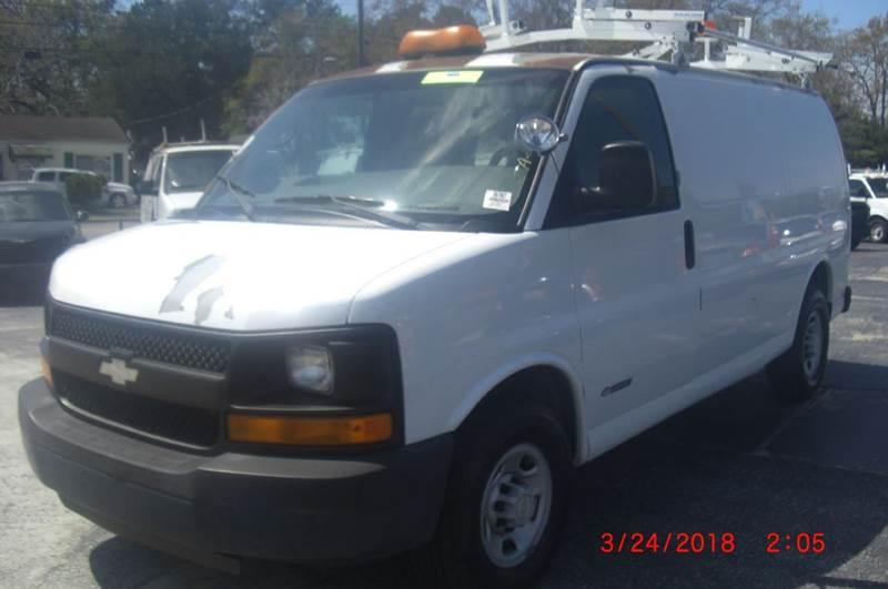 Chevrolet Express Cargo 2005 2500 3dr Van