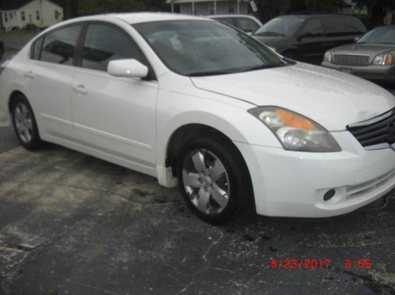 2007 Nissan Altima 2.5 S 4dr Sedan (2.5L I4 CVT) - North Charleston SC