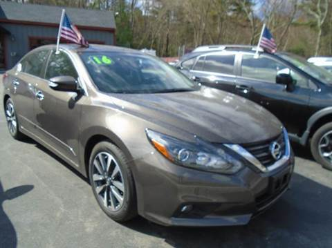 2016 Nissan Altima for sale in Bellingham, MA