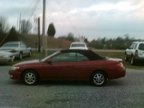 2003 Toyota Camry Solara for sale in Maryville, TN