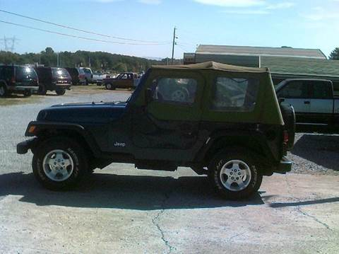 1997 Jeep Wrangler for sale in Maryville, TN
