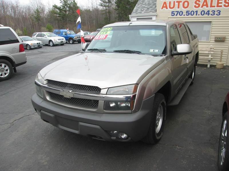 2002 Chevrolet Avalanche 4dr 1500 4WD Crew Cab SB - Hazleton PA