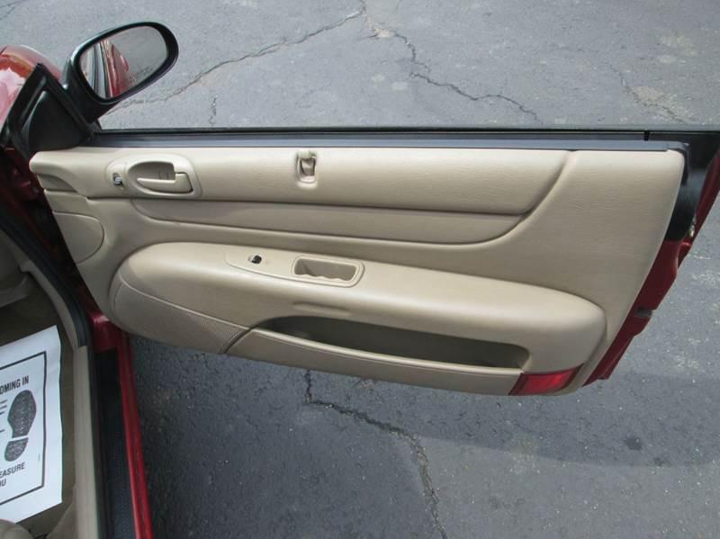 2004 Chrysler Sebring Touring 2dr Convertible - Hazleton PA