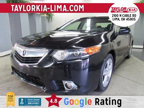 2012 Acura TSX for sale in Lima, OH