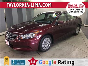 2011 Honda Accord for sale in Lima, OH