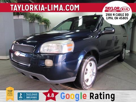 2005 Chevrolet Uplander for sale in Lima, OH