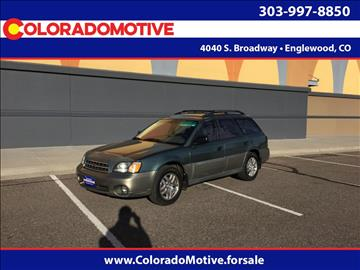2001 Subaru Outback for sale in Englewood, CO