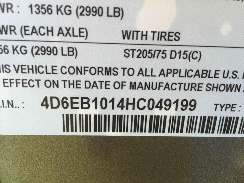 2017 CARGO CRAFT 6X10 RAMP  - New Braunfels TX