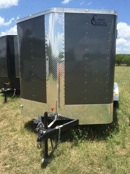 2017 CARGO CRAFT  7X18 RAMP  - New Braunfels TX