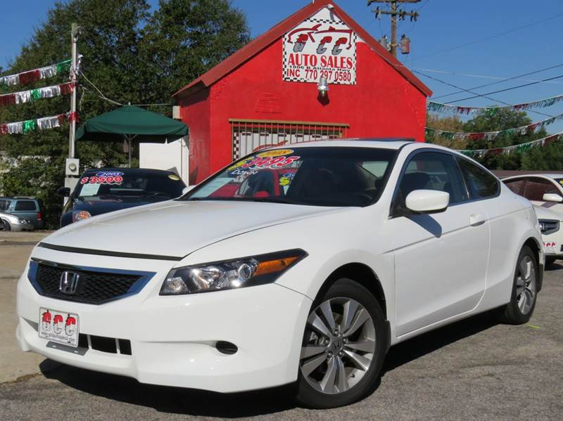 2008 honda accord for sale in gainesville ga. Black Bedroom Furniture Sets. Home Design Ideas