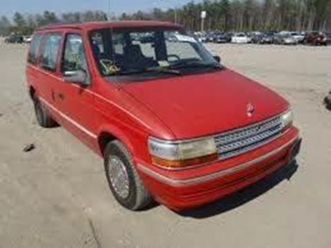 1992 Plymouth Grand Voyager for sale in Sioux Falls, nul